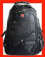 Швейцарский водозащитный рюкзак, сумка Swissgear 8810 с ЮСБ, фото 1