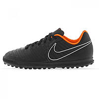 Сороконожки Nike Tiempo Legend Club Childrens Black/Orange - Оригинал