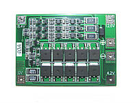 BMS Контролер (плата захисту) 3S Li-Ion 18650 12.6V 40A з балансом