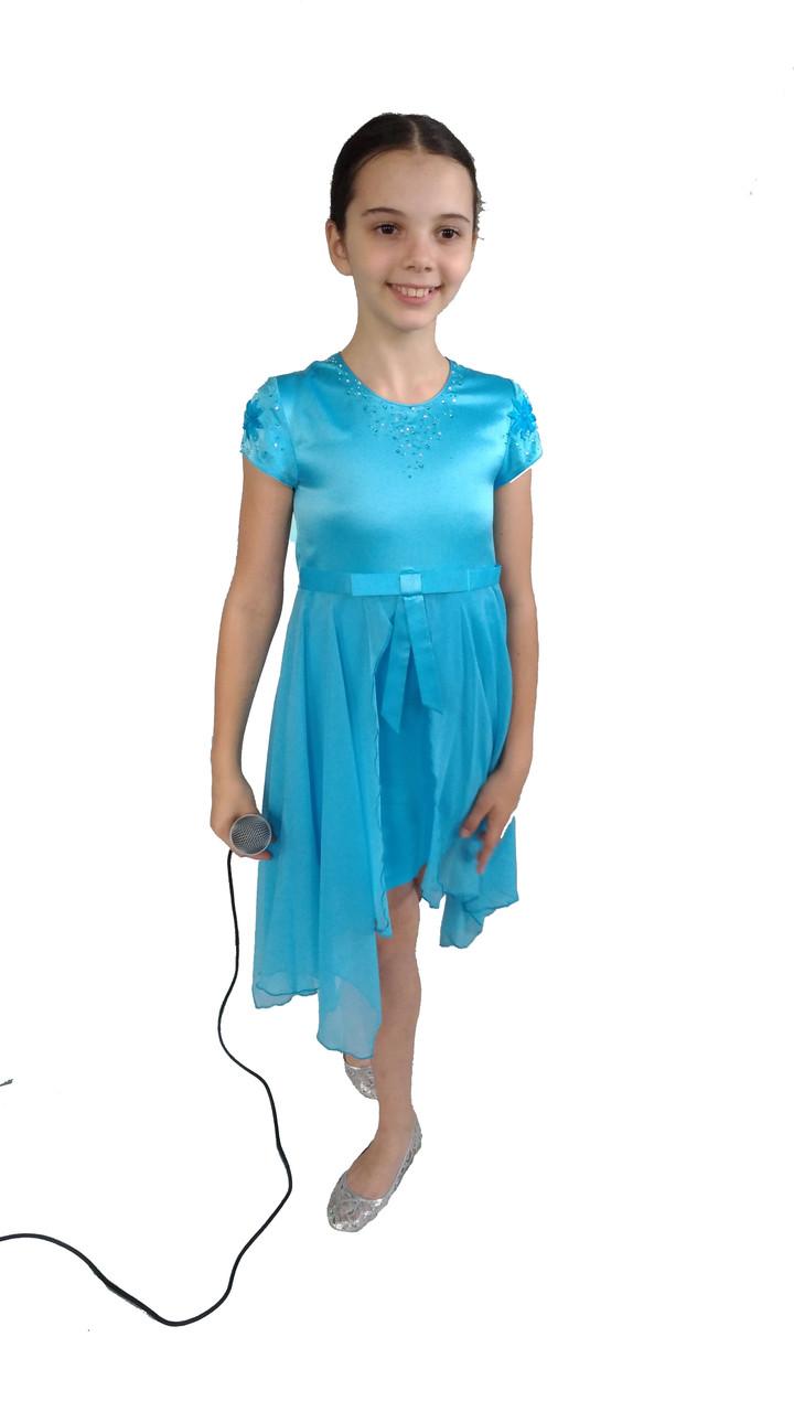 Сценическое платье со стразами Музыка Земли 1