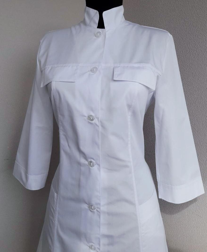34012d55bc1a4 Медицинский халат воротник стойка - Интернет магазин одежды Жасмин. в  Хмельницком