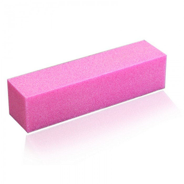 Шлифовка для ногтей, розовая