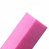 Шлифовка для ногтей, розовая, фото 3