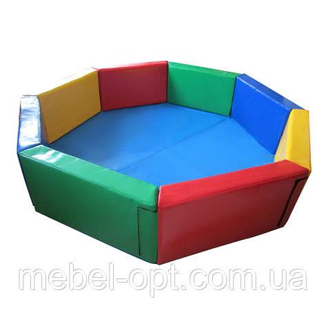 Сухой бассейн Восьмигранник 1,5 м Тia-sport, фото 2