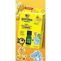 100% Природная защита от комаров: экстракт + наклейки Gardex Baby