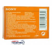 Sony Кассета miniDV DVM-60 PR4 PREMIUM 60 минут Пластиковый бокс