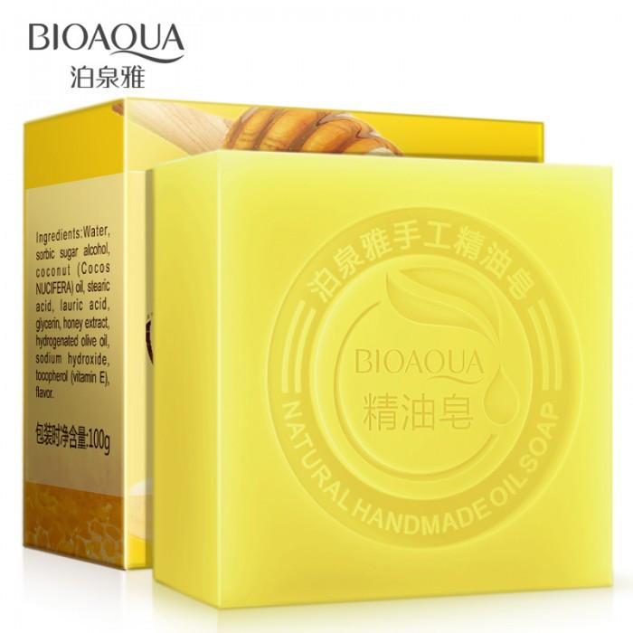 Натуральное мыло с мёдом BIOAQUA, 100 г