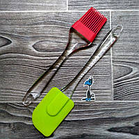 Набор кисточка и лопатка