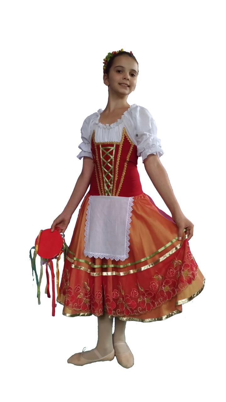 Балетная пачка шопенка итальянская Тарантелла