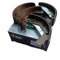 Колодки тормозные Lanos / Ланос 1.4, 1,5 LPR задние, LPR06800 / LPR04640
