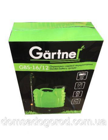 Опрыскиватель садовый Gartner GBS-16\12