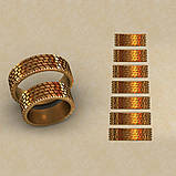 Кольца парные,обручальные  Праздник КВ-764, фото 2