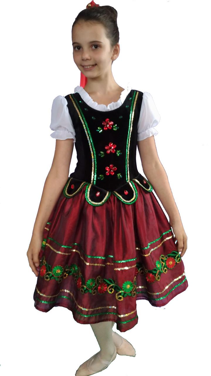 Балетная пачка шопенка в украинском стиле Полька