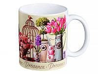 "Кружка ""Весение цветы"" 350 мл, Lefard, 072-069"
