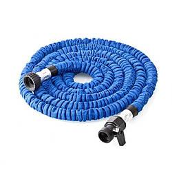 Шланг для полива поливочный шланг XHOSE 15 м с распылителем NEW Blue