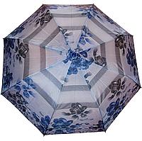 Зонт женский полуавтомат c цветами арт.6317