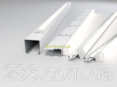 Светильники для подвесного потолка Армстронг  Кraft LED-T  (комплект) Набор 600 мм х 2