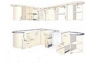 Кухни на заказ по индивидуальным размерам и дизайну изготовление