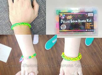 Детский набор резинок для плетения 2000 шт