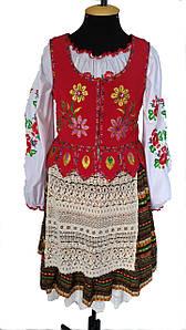 Польский народный стилизованный костюм Польша
