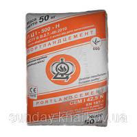 Цемент ПЦ - 500 Ивано-Франковск (50кг) заводская упаковка