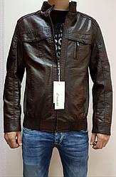 Курточка мужская(кожзам). В ростовке 7 штук. Размеры 48-60