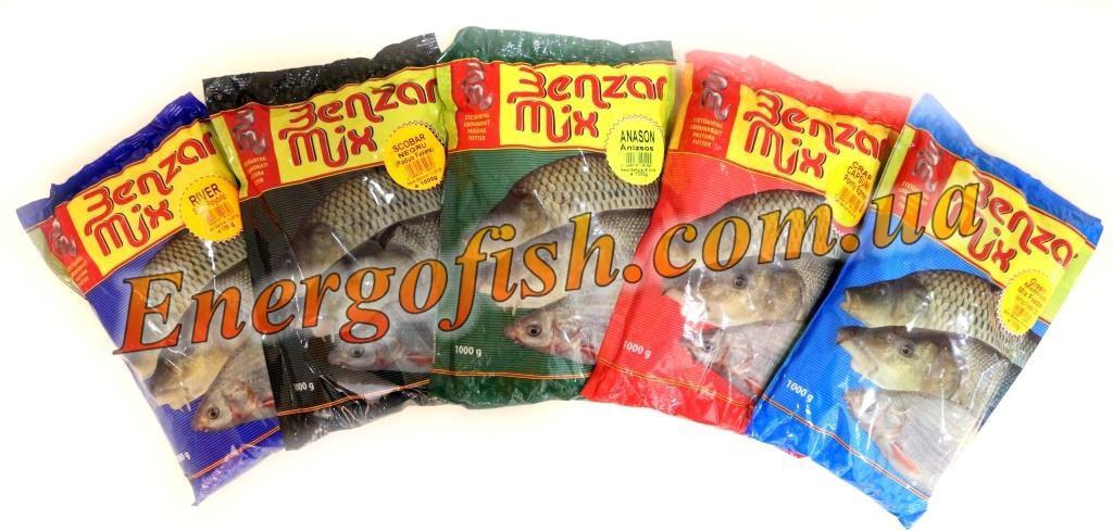 Прикормка Benzar Mix 1kg Марена- Подуст красный