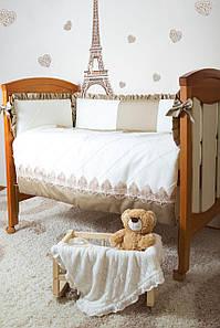 Комплект элитного постельного белья Bamboccio Deluxe Gold Baby 120х60 (DGMKK13-1)
