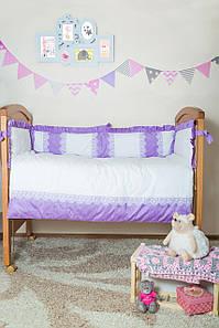 Комплект элитного постельного белья Bamboccio Deluxe VoiletChic 120х60 (DVBBK13-1)