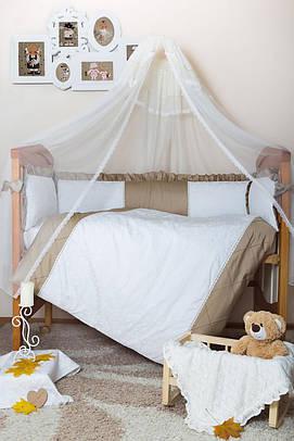 Комплект элитного постельного белья Bamboccio Deluxe GoldChic 120х60 (DSBBK13-1)