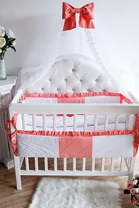 Комплект элитного постельного белья Bamboccio Deluxe RoseChic 120х60 (DRBBK13-1)