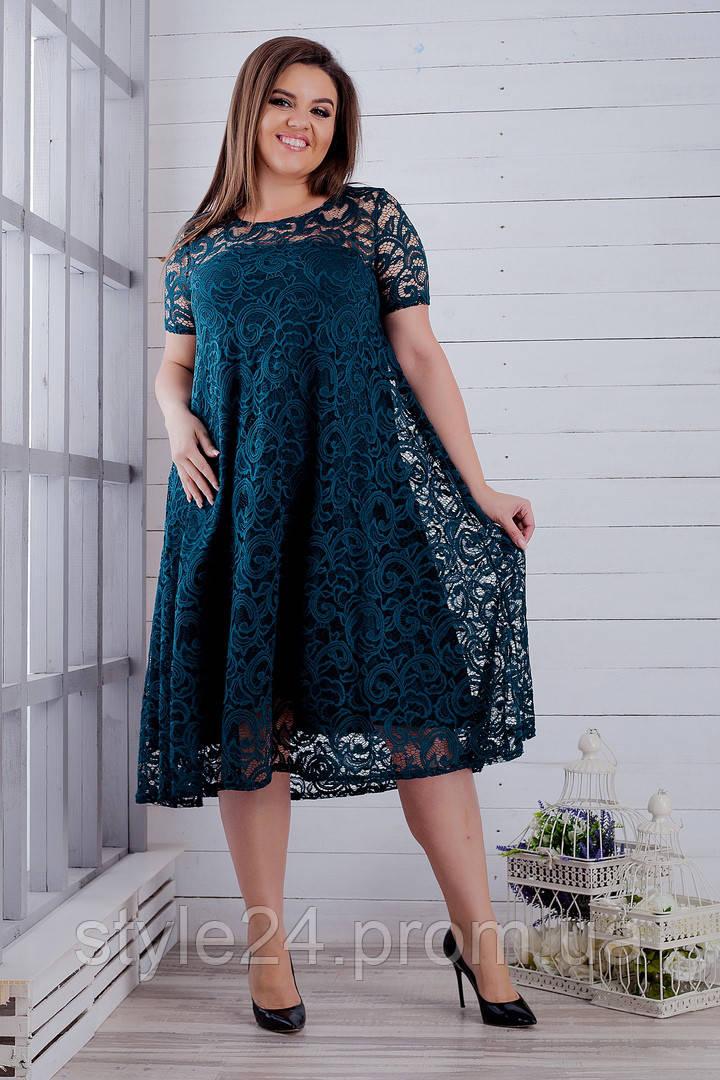 Шикарне гіпюрове плаття великих розмірів (50-64)  продажа 382f60b7ba80f