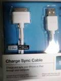 USB кабель для Apple iPhone 3G/4/4S, iPod nano, iPad Belkin с док-разъемом