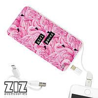 Аккумулятор для зарядки телефона фламинго  5000 мАч