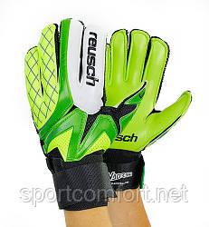 Вратарские перчатки Reusch green palm 5-ка, 6-ка, 7-ка