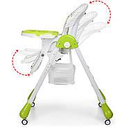 Стульчик для кормления с выдвижным столиком M 3233 Cat Green Гарантия качества Быстрая доставка, фото 2
