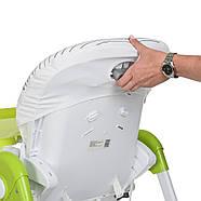 Стульчик для кормления с выдвижным столиком M 3233 Cat Green Гарантия качества Быстрая доставка, фото 5