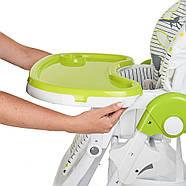 Стульчик для кормления с выдвижным столиком M 3233 Cat Green Гарантия качества Быстрая доставка, фото 6