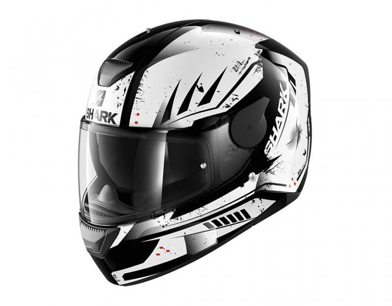 Шлем Shark D-skwal Dharkov р.XL, черно-белый