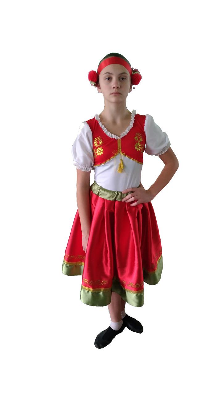 Украинский стилизованный  костюм для танцев Конотопская полька