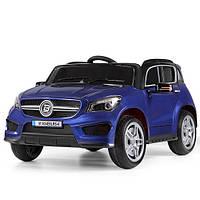 Детский электромобиль M 3624EBLRS-4, колеса EVA, синий