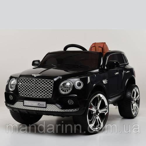 Детский электромобиль M 3586EBLR-2, колеса EVA, черный
