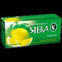 "Чай зеленый Принцесса Ява ""Лимон"" 25 пак."