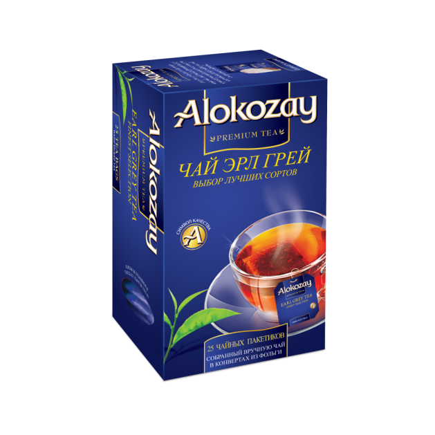 Чай Alokozay черный с бергамотом 25 пакетиков