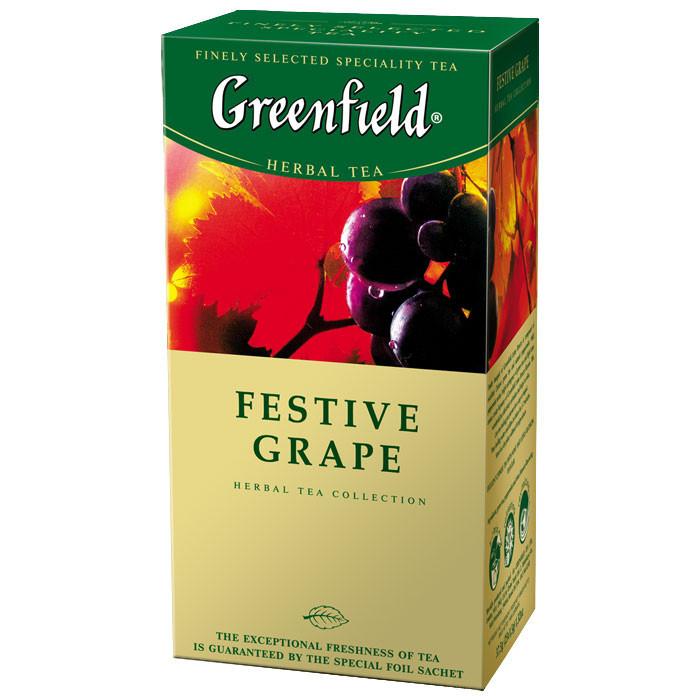 Чай Гринфилд Festive Grape 25 пакетиков