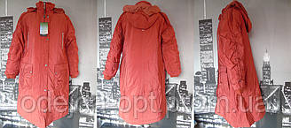 Пальто женское батал зима