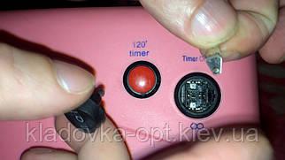 Заміна кнопки вкл./викл. в УФ лампи