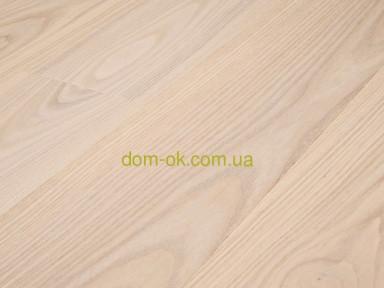 Массивная доска из ясеня толщиной 24 мм с покрытием масло Osmo, ширина на выбор * ширина 65 мм