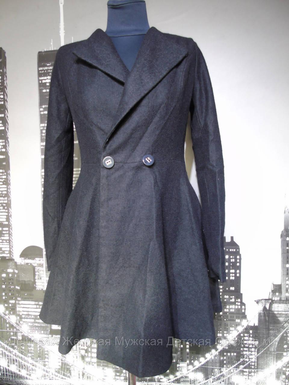 Пальто жіноче кашемір весна-осінь