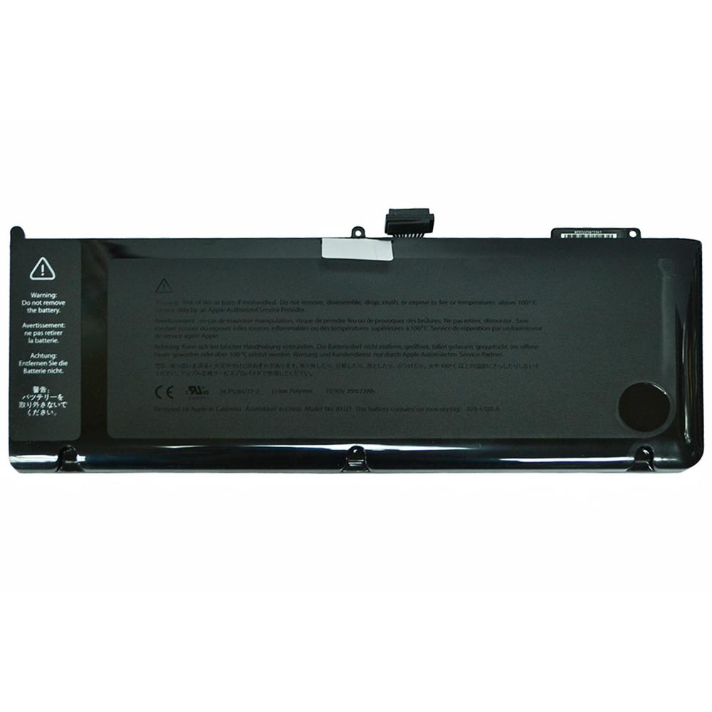 Аккумулятор Apple MacBook Pro 15 10.95V 6600mAh, черная, Оригинал